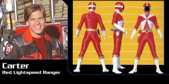 Carter - Red Lightspeed Ranger
