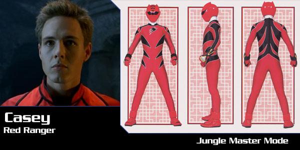 Casey - Jungle Fury Red Ranger