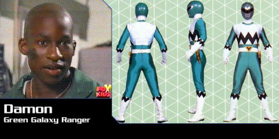 Damon - Green Galaxy Ranger