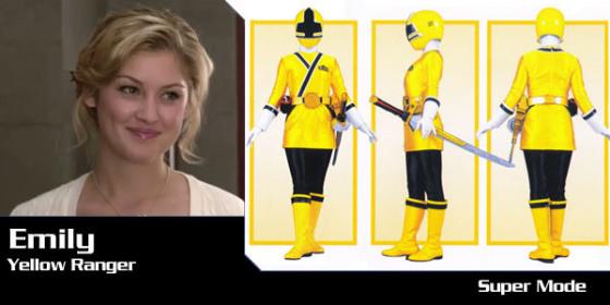 Emily - Yellow Samurai Ranger