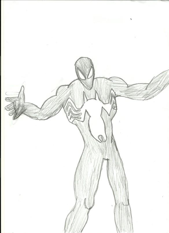 Homem-Aranha Negro - Bignada Fan Art