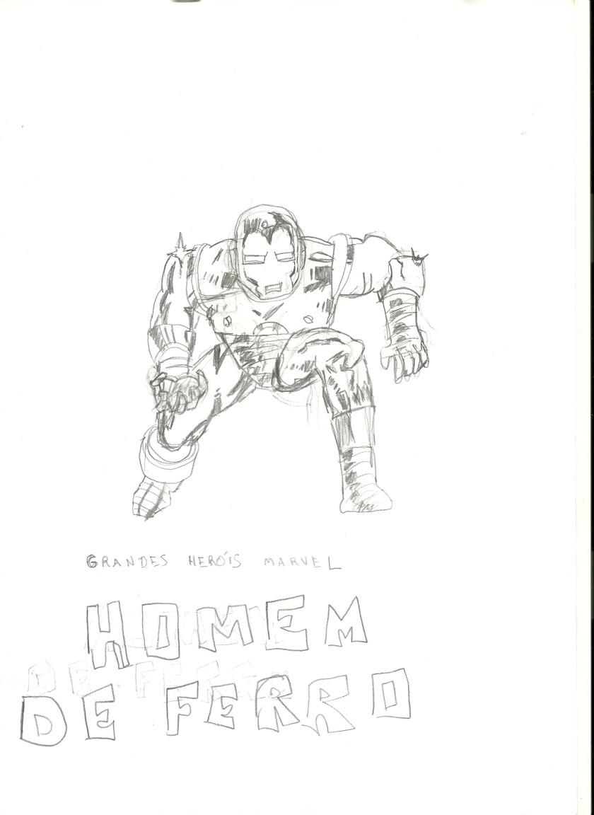 Homem de Ferro - Grandes Heróis Marvel 01