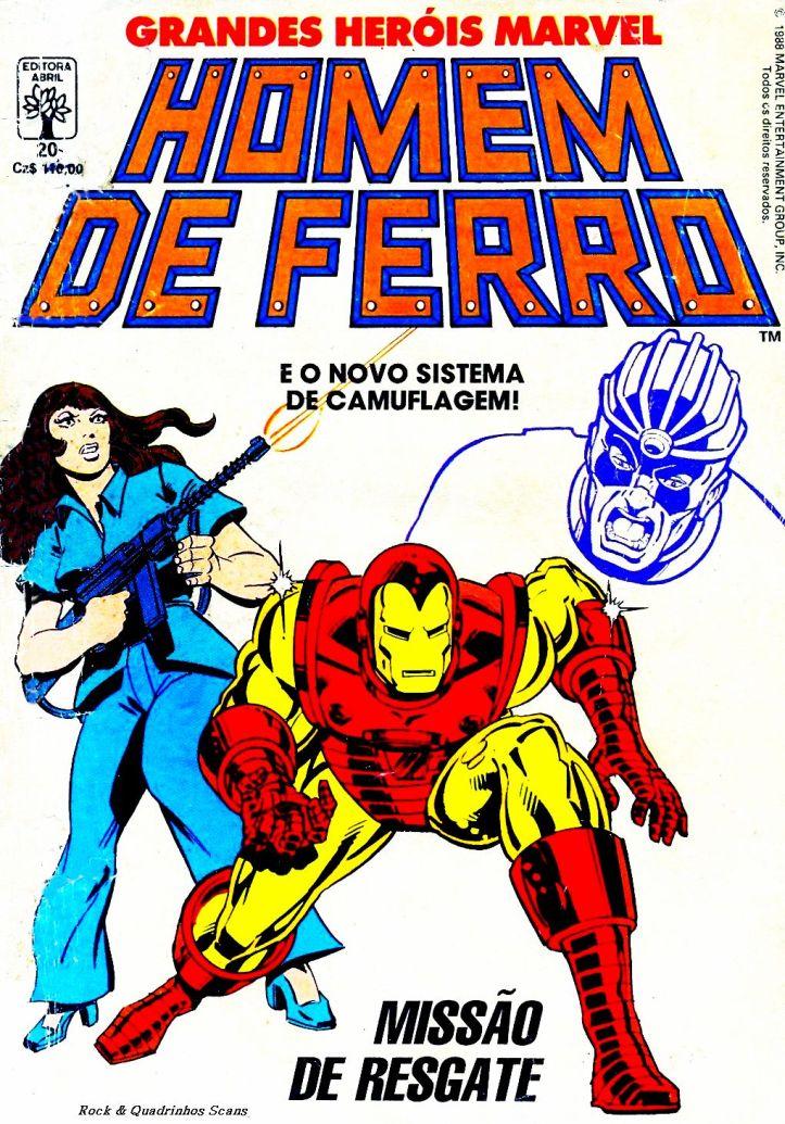 Homem de Ferro - Grandes Heróis Marvel #20