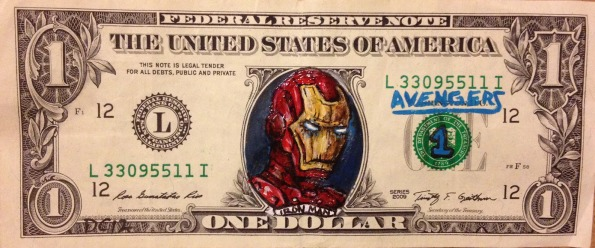 Iron Man Money