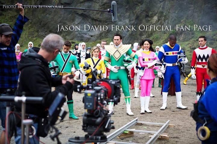 Jason Frank David - Tommy - Ranger Verde - Power Rangers Super Megaforce