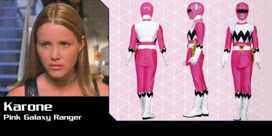 Karone - Pinky Galaxy Ranger