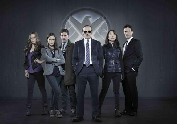 Marvel - Agents of S.H.I.E.L.D. - Primeira Imagem Oficial - Elenco