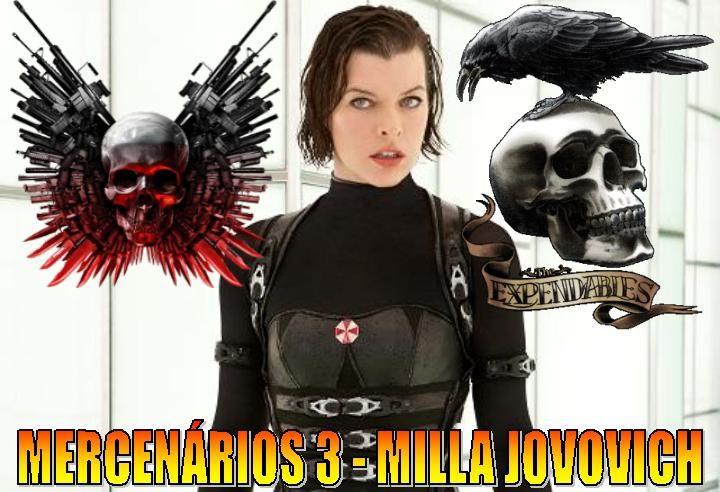 Mercenários 3 - Milla Jovovich