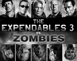 The Expendables Vs. Zombies