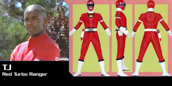 TJ - Red Turbo Ranger