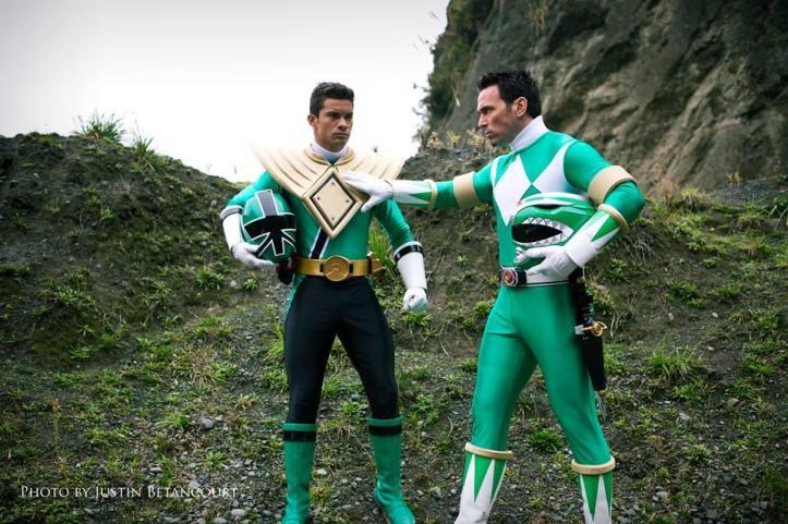 Tommy - Ranger Verde Clássico - Power Rangers Super Megaforce