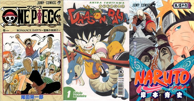 Top 10 - Shonen Jump Mangás