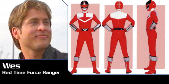 Wes - Red Time Force Ranger