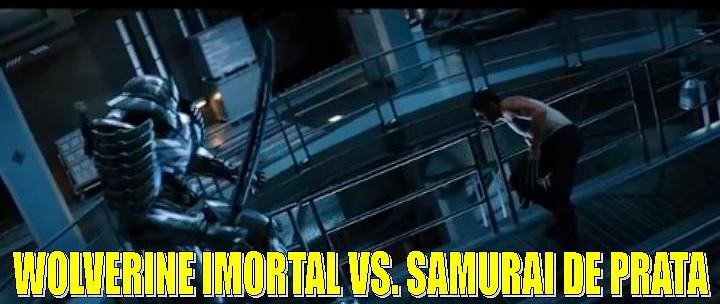 Wolverine Imortal Vs. Samurai de Prata