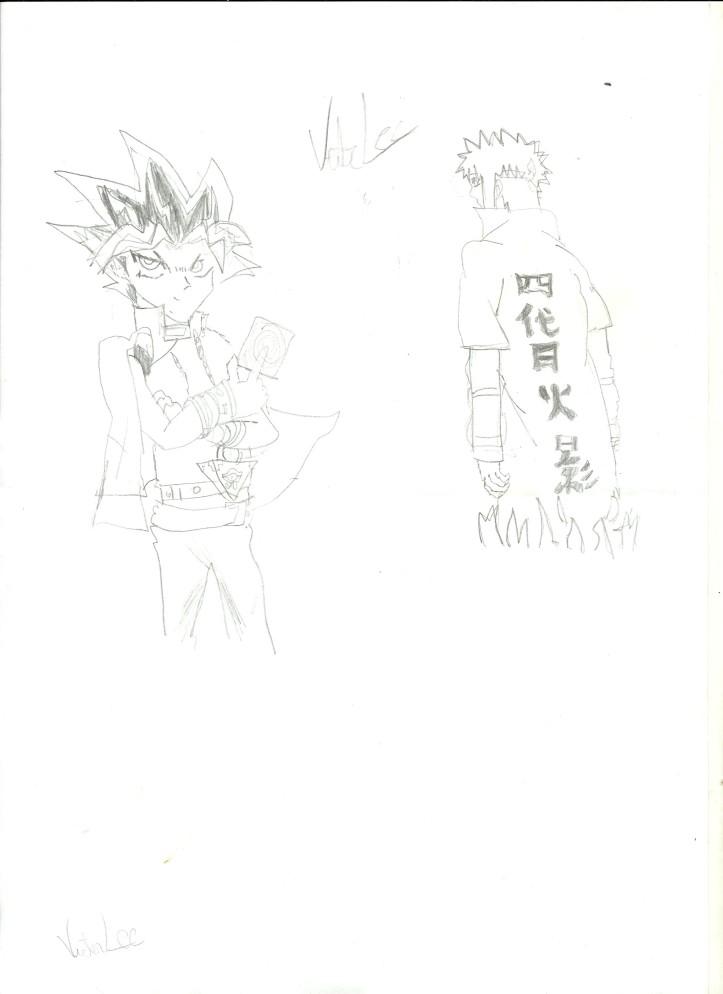 Yugi e Minato - Bignada Fan Art