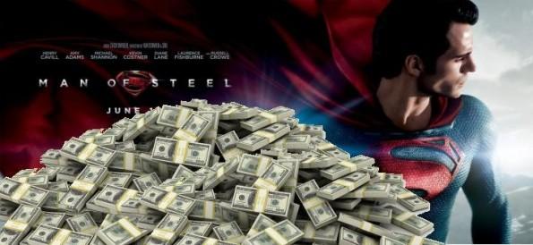 Man of Steel - Sucesso de Bilheteria