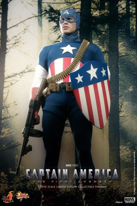 Capitão América - Star Spangled Man Hot Toy
