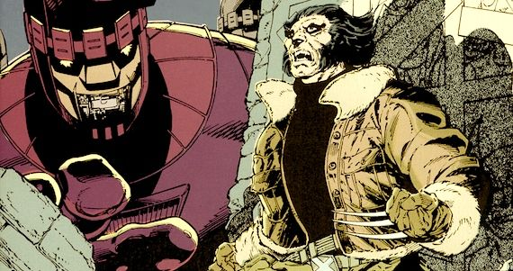 Wolverine Vs. Sentinela - X-Men Days of Future Past