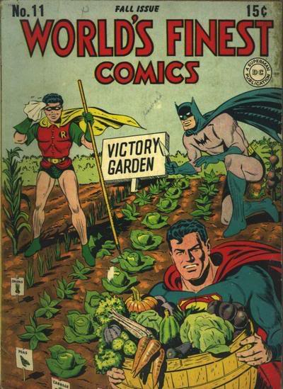 World Finest #11 - Holy vegan war effort, Batman!