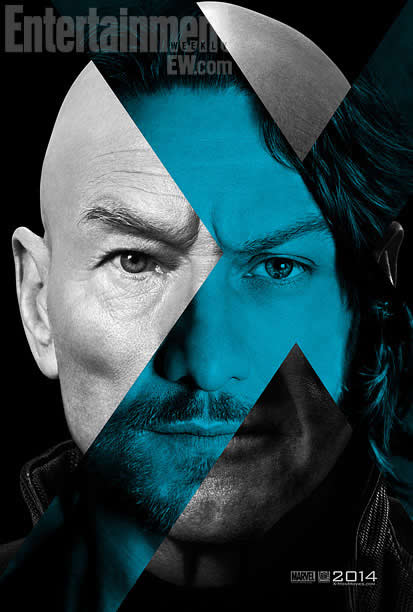 X-Men - Days of Future Past - EW Poster - Xavier