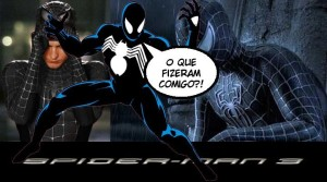 Homem-Aranha 3 - Uniforme Negro Clássico foi rejeitado