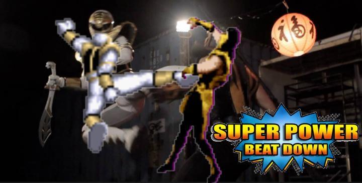 Jason Frank David - Ranger Branco Original no Super Power Beat Down