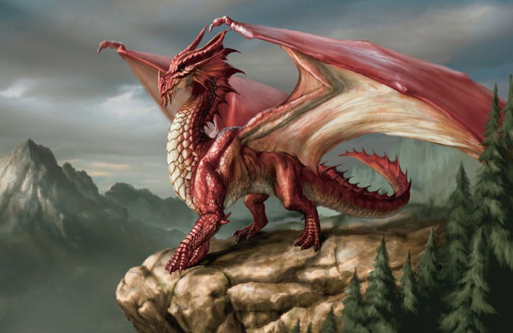 Red Dragon - D&D