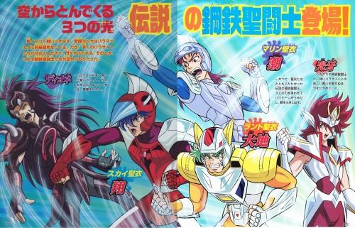 Saint Seiya Omega - Cavaleiros de Aço no Anime