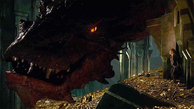 Smaug CGI - O Hobbit