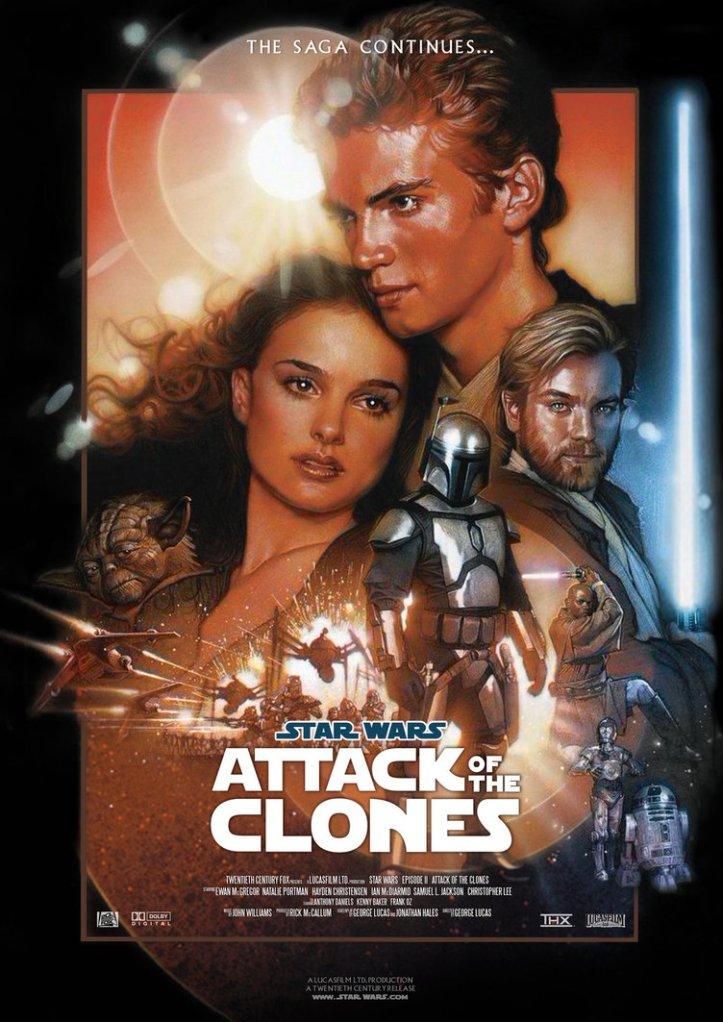 Star Wars - Episódio II - O Ataque dos Cloines - Poster