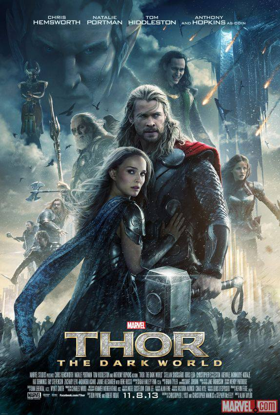 Thor - The Dark World - New Poster