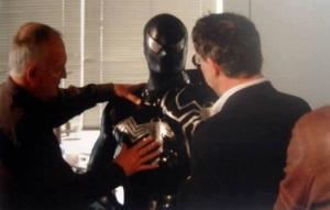 Uniforme Negro Clássico em Homem-Aranha 3