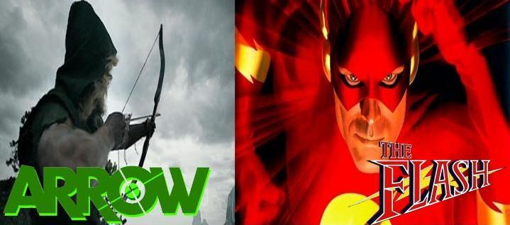 Arrow - Flash na série de televisão
