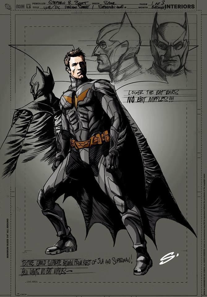 Batman Vs Superman Possivel Arte Conceitual Do Batrman Ben