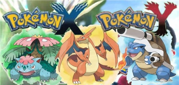 Pokemon X e Y - Mega Evolução