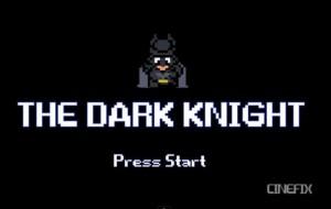 The Dark Knight 8 Bits
