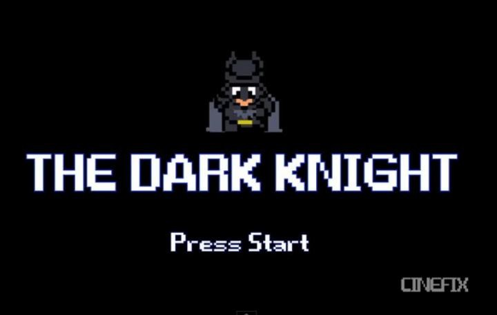 The Dark Knight 8 Bits