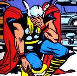 Thor Facepalm