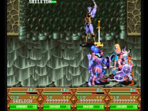 Dungeons and Dragons  - Tower of Doom - Dark Elf