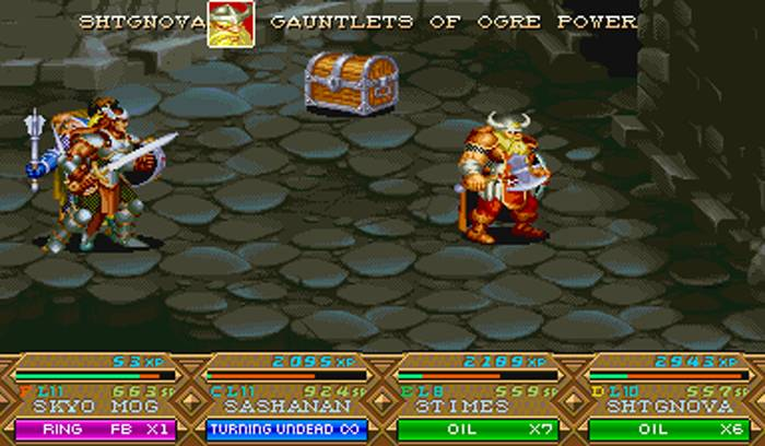 Dungeons and Dragons - Tower of Doom - Minas