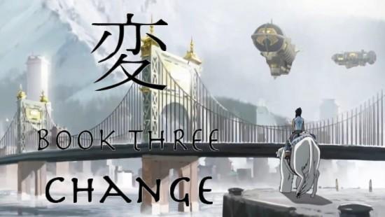 Avatar - A Lenda de Korra - Livro 3 - Mudança