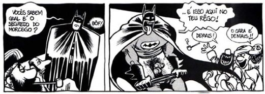 Segredo do Morcego - Laerte