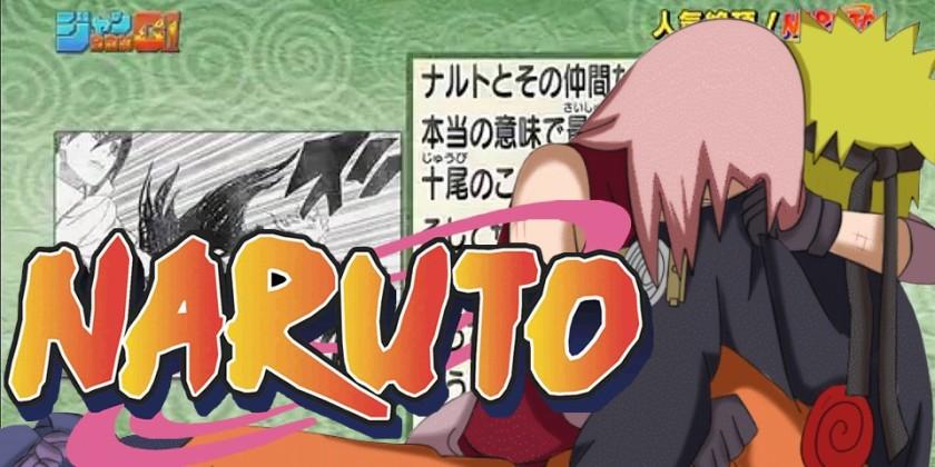 Naruto - Mangá perto do Fim