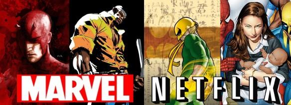 Os Defensores - Séries da Marvel do Demolidor, Luke Cage, Punho de Ferro e Jessica Jones no Netflix