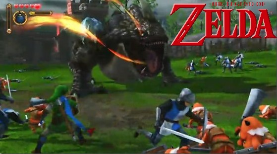 Hyrule Warriors - Zelda+Dinasty Warrios para Nintendo Wii U