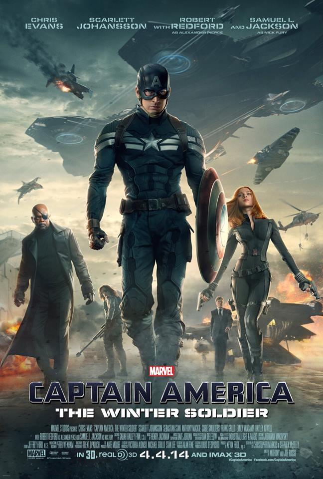 Capitão América - Soldado Invernal - Poster Oficial
