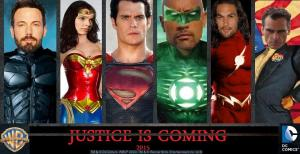 Liga da Justiça - Fan Poster Oficial