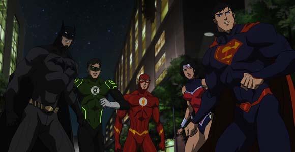 Liga da Justiça - Guerra (2014)