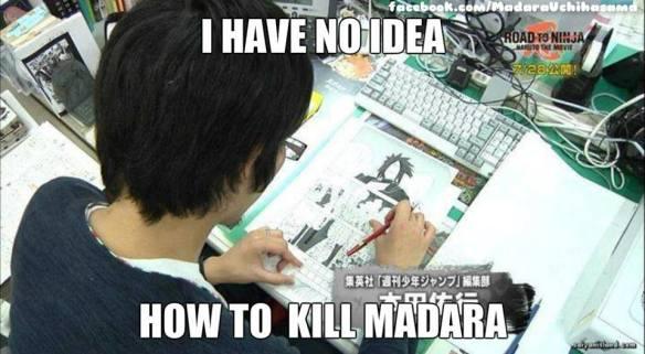 Naruto - I don´t know how to kill Madara por Kishimoto