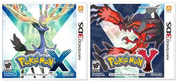 Pokemon X e Pokemon Y - Nintendo 3DS
